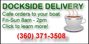 Dockside delivery available