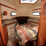 Wet bedding on boats