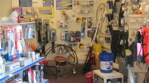 Marine supplies in the Chandlery