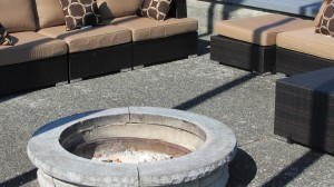 Kick back around the fire pit